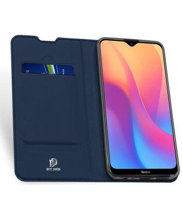 Dux Ducis Premium Book Case Xiaomi Redmi 8A Hoesje Blauw Hoesjes