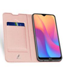 Dux Ducis Premium Book Case Xiaomi Redmi 8A Hoesje Roze Goud