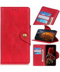 Xiaomi Redmi Note 8T Bookcase Hoesje Rood