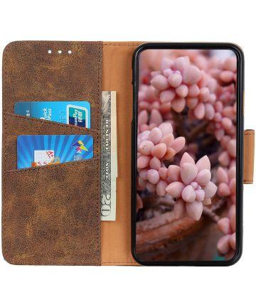 Xiaomi Redmi Note 8T Vintage Bookcase Bruin Hoesjes