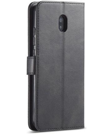 Xiaomi Redmi 8A Portemonnee Stand Bookcase Hoesje Zwart Hoesjes