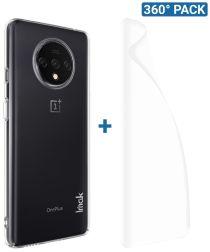IMAK Crystal II Pro Series OnePlus 7T Hoesje met Screenprotector