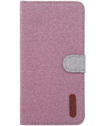 Nokia 6.2 / 7.2 Portemonnee Hoesje met Standaard Roze