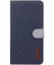 Nokia 6.2 / 7.2 Portemonnee Hoesje met Standaard Blauw