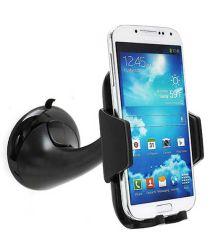 Auto Dashboard Telefoonhouder met Zuignap Voor Telefoons Zwart
