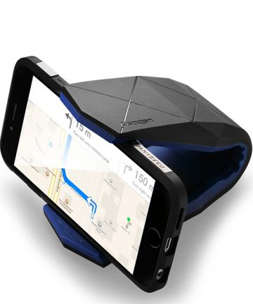 Spigen Stealth Auto Dashboard Telefoonhouder Zwart/Blauw