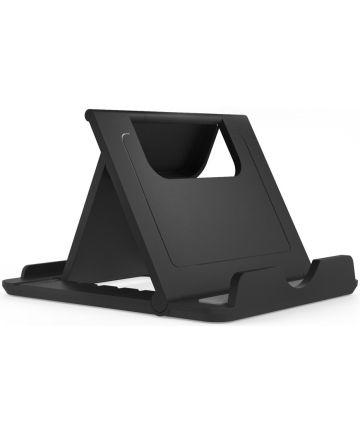 Universele Verstelbare Telefoon en Tablet Bureau Houder Zwart