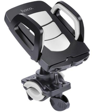 Hoco Universele Verstelbare Telefoonhouder Fiets en Scooter Zwart