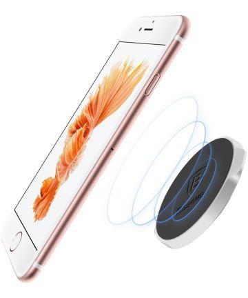 Baseus Small Ears Universele Magnetische Telefoonhouder Zilver