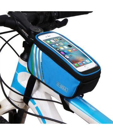 Universele Spatwaterdichte Fietshouder voor Smartphones Blauw