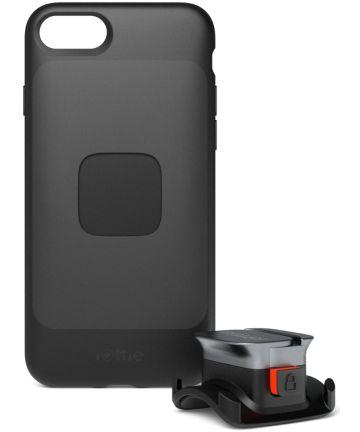 iOttie Active Edge Go Fietshouder met iPhone SE 2020 Hoesje Zwart Hoesjes