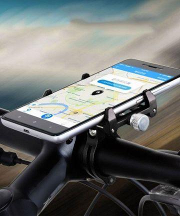 GUB G86 Universele Fiets Telefoonhouder voor Smartphone Zwart Houders
