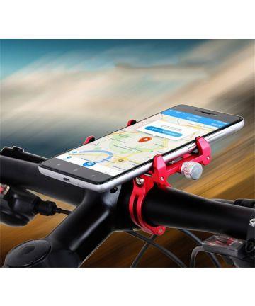 GUB G86 Universele Fiets Telefoonhouder voor Smartphone Rood Houders