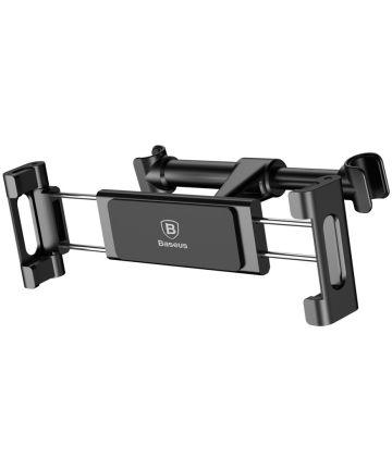Baseus Universele Hoofdsteun Tablet Houder voor in de Auto Zwart/Grijs