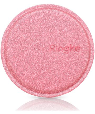 Ringke Metalen Plaatje voor magnetische houders - 2 Stuks Roze Houders
