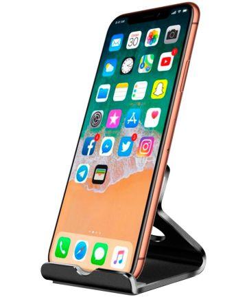Universele Bureau Telefoon en Tablet Houder Zwart