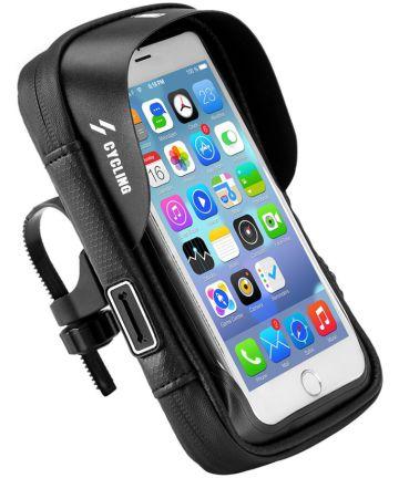 Universele Waterbestendige Fiets Telefoonhouder Voor Smartphone 6 Inch Houders