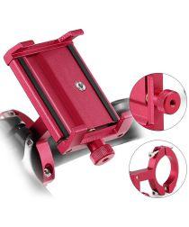 Universele Aluminium Smartphonehouder voor Fietsen Rood