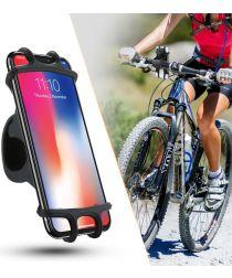 Universele en Schokbestendige Telefoonhouder Fiets/Mountainbike Zwart