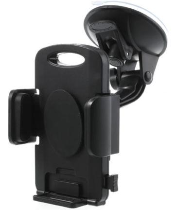 Universele 360 Graden Dashboard Auto Telefoonhouder met Zuignap Zwart
