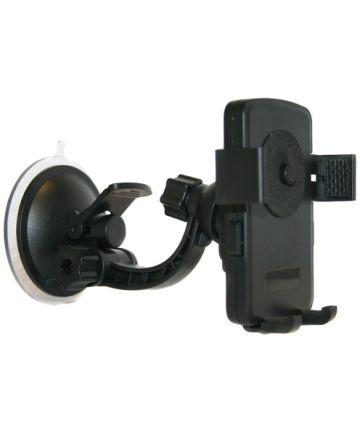 Pama Verstelbare Dashboard Telefoonhouder Auto met Zuignap Zwart Houders