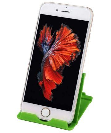 Universele Verstelbare Bureau Houder voor Telefoons en Tablets Groen Houders