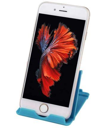 Universele Verstelbare Bureau Houder voor Telefoons en Tablets Blauw