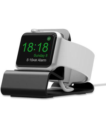 Universele Aluminium Apple Watch Series Dock Stand Bureau Houder Grijs Houders