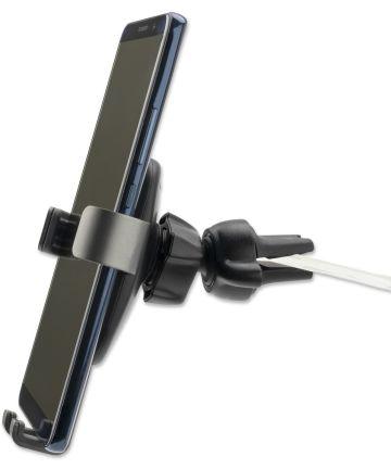 4smarts GRABBER 2.0 Ventilatierooster Auto Houder Zwart/Grijs Houders