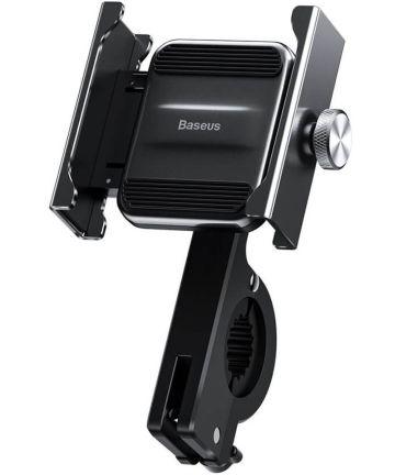 Baseus Knight Telefoonhouder Fiets/Motor/Scooter Stuur/Spiegel Zwart Houders