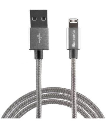 4smarts RAPIDCord iPhone Kabel 1 Meter Grijs