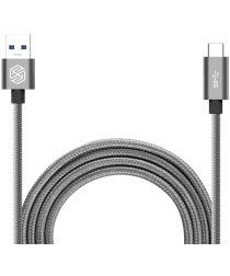 Nillkin Elite USB-C kabel 1 meter sterk nylon Grijs