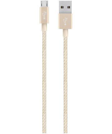 Belkin Mixit Micro-USB Kabel 1.2 Meter Gevlochten Nylon Goud