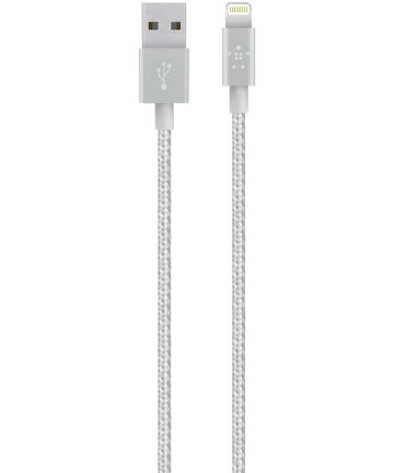 Belkin Lightning Kabel 1.2 Meter Nylon Zilver