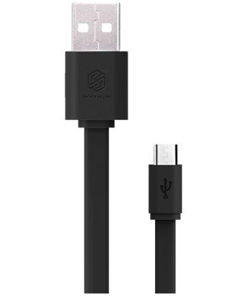 Nillkin Micro-USB 1.2 Meter Platte Kabel Zwart
