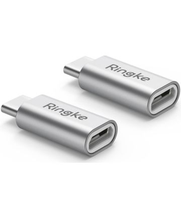 Ringke Micro-USB naar USB C Adapter 2-pack Kabels