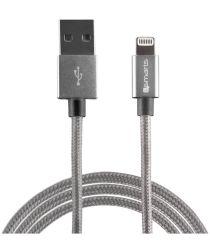 4smarts RAPIDCord iPhone Kabel 2 Meter Grijs