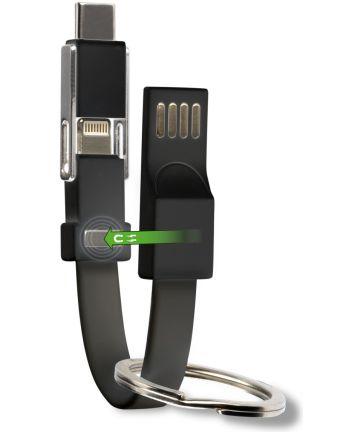 4smarts 3-in-1 Kabel set Zwart 5CM