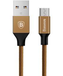 Baseus Gevlochten 1.5m Micro-USB Kabel Coffee