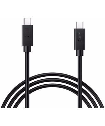 Aukey Premium USB C Kabel 0.9 Meter Zwart