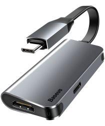 Baseus Little Box USB C naar HDMI Kabel Converter Grijs