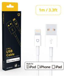 RhinoShield MFI iPhone Kabel 1 Meter Wit