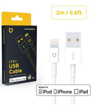 RhinoShield MFI iPhone Kabel 2 Meter Wit