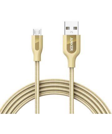 Anker PowerLine+ Micro-USB Kabel 0.9m Goud