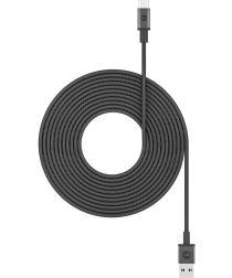 Mophie USB-A naar USB-C Kabel 3m Zwart