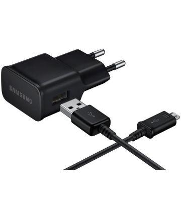 Originele Samsung Oplader 10W met Micro-USB Kabel EP-TA12EBEU Zwart