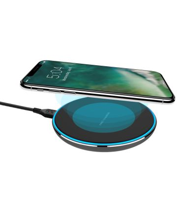 XQISIT Wireless Fast Charger Zwart