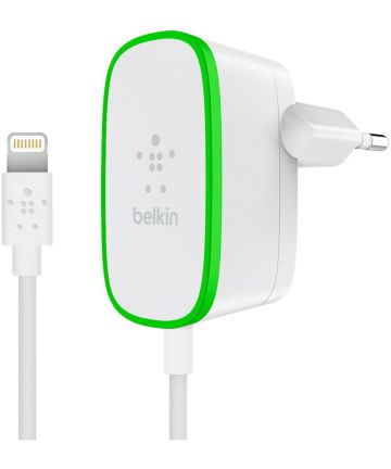 Belkin BOOST↑UP 2.4A Apple Lightning iPad / iPhone Oplader 1,8M Wit