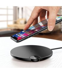 Baseus Wireless Fast Charger (10W) met Led Display Zwart
