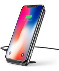 Baseus Wireless Fast Charger en Bureaustandaard Zwart